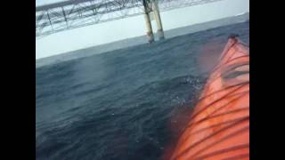 Kayaking The Straits of Mackinaw November 2009- Thrice Digital Sea