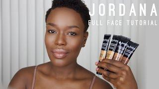 Jordana 2 in 1 Foundation FULL FACE Dark Skin | Destiny Godley