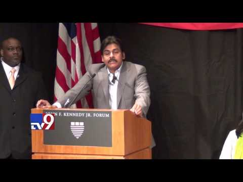 Pawan Kalyan speech at Harvard University - Full video - TV9