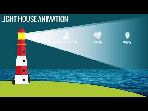 Multipurpose PowerPoint template/Lighthouse animation/Business Infographics thumbnail