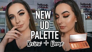 NEW Urban Decay Naked Petite Heat Palette | FIRST IMPRESSION + DEMO
