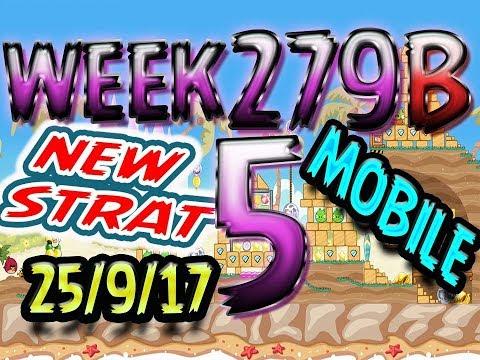 Angry Birds Friends Tournament Level 5 Week 279-B NEW STRAT Highscore POWER-UP walkthrough
