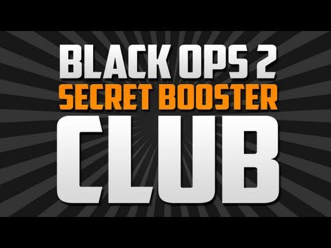 BO2 Secret Booster Club!? @DavidVonderhaar