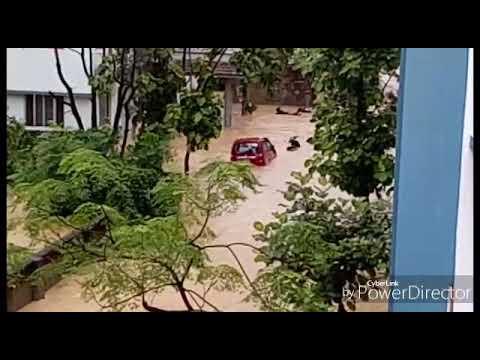 Flood in Medical college(NMCTH) Birgunj,Nepal ।। Natural Disaster।।2074/04/29
