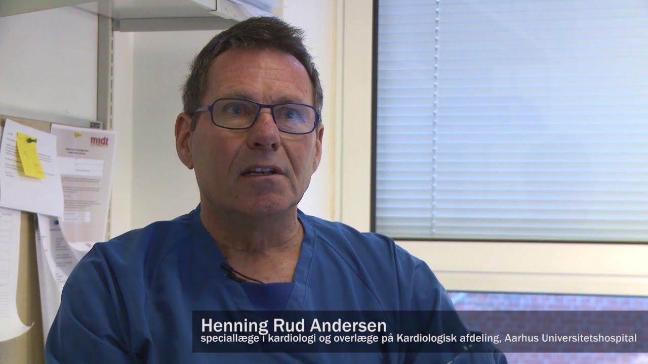 Hjertelæge Henning Rud Andersen - Kateterbaseret udskiftning af hjerteklapper