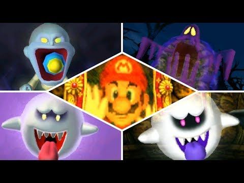 Luigi's Mansion 3DS: All Portrait Ghost Boss Battles (Gold Frame & A-Rank)