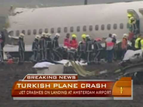 Plane Crashes In Netherlands
