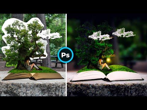 Мир #Фотошопа. Photoshop tutorial