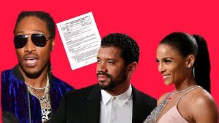 Future signing over parental rights to Ciara And Russell Wilson is Not being a Man?