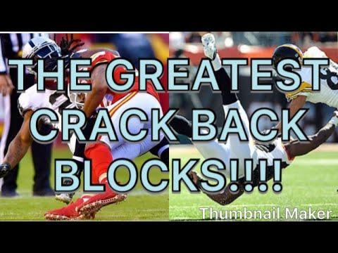 "Football's Greatest Crack Back/Peel Back Blocks.  Joyner Lucas ""look Alive"