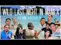 WILD LAST NIGHT IN MANILA   PHILIPPINES TRAVEL VLOG (Ft. Vlog Squad PH)