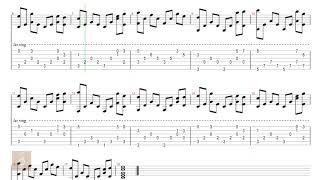 Theme Lord Of The Rings - Nhạc phim Chúa tể những chiếc nhẫn - Tab guitar solo