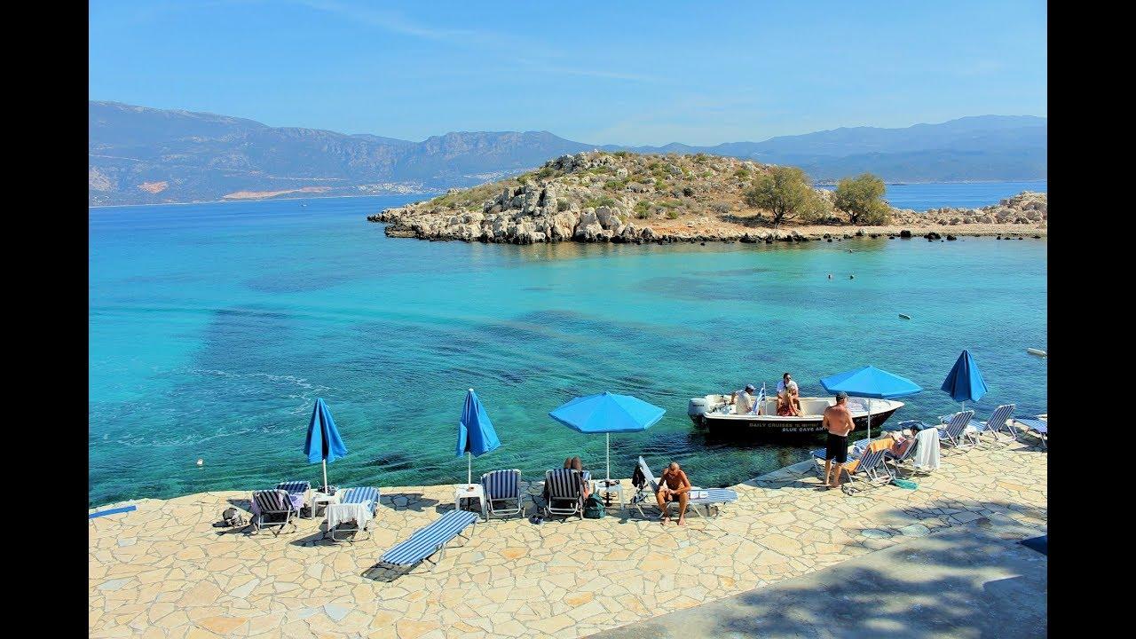Άγιος Γεώργιος (Νησίδα) Μεγίστης / Agios Georgios (Island) Megisti ...