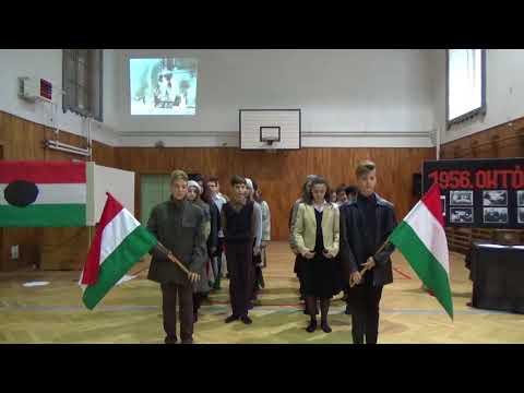 Megemlékezés az 1956-os magyar forradalom eseményeire