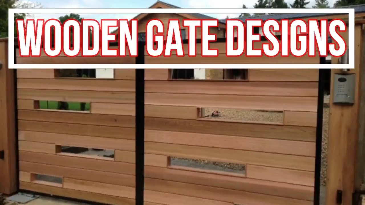 A gate can be made of wrought iron, aluminium, or wood. Top 35 Wooden Main Gate Designs For Your Home 2020 Hd Sg Maxhouzez