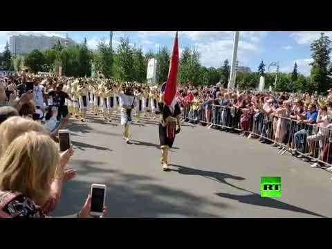 أغنية كاتيوشا الروسية على لحن الجيش المصري  - نشر قبل 9 ساعة