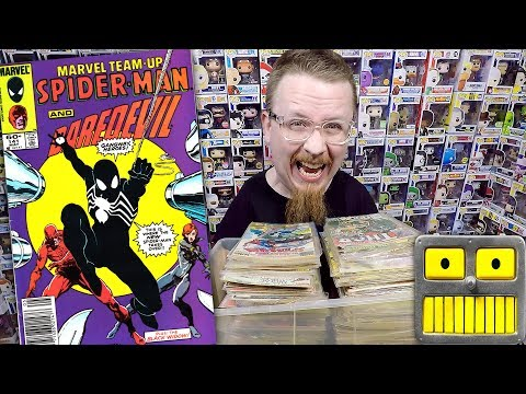 Epic Comic Book Collection Haul Bronze Age Copper Age Key Issue Comics Pickups