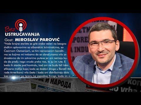BEZ USTRUČAVANJA - Miroslav Parović: Crnogorska politička scena i služba su postale mafijaški kartel