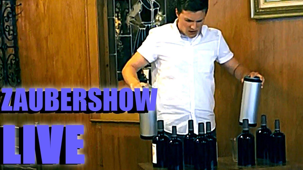 Download WEINFLASCHE VERVIELFÄLTIGEN!! - LIVE ZAUBERSHOW   MrTriXXL Zaubertricks
