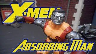 X-Men vs Absorbing Man Stop Motion Fight