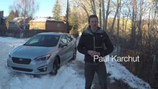 2017 Subaru Impreza review from Family Wheels
