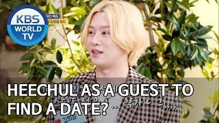 Download lagu Heechul as a guest to find a date MP3