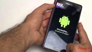 Galaxy Примітка 4 - Інструкція По Прошивці (Андроїд) Оновлення
