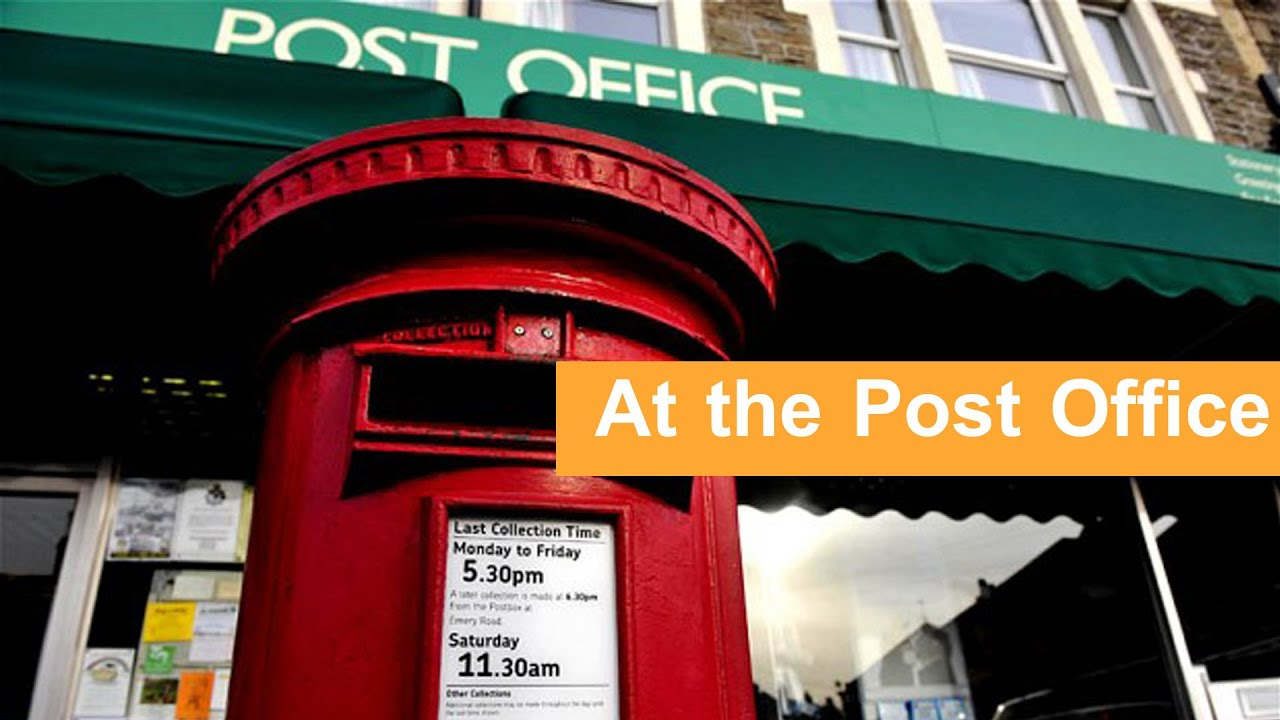 English conversation at the post office youtube - Post office working today ...