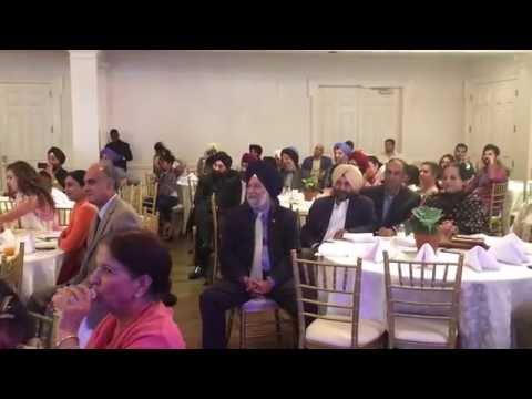 Gurpreet Ghuggi at the EcoSikh Gala in Washington on September 18, 2016