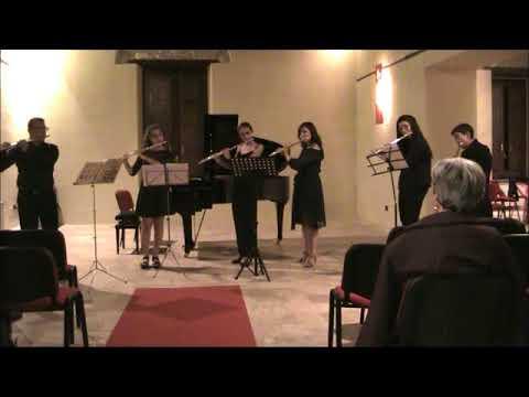 Cerisano Opera Festival 2017 Concerto finale allievi Masterclass di flauto M°Raffaele Bifulco
