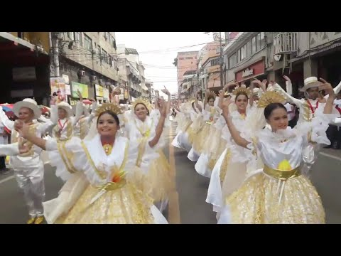 Sinulog 2018 Parade of Participants - Banauan Cultural Group