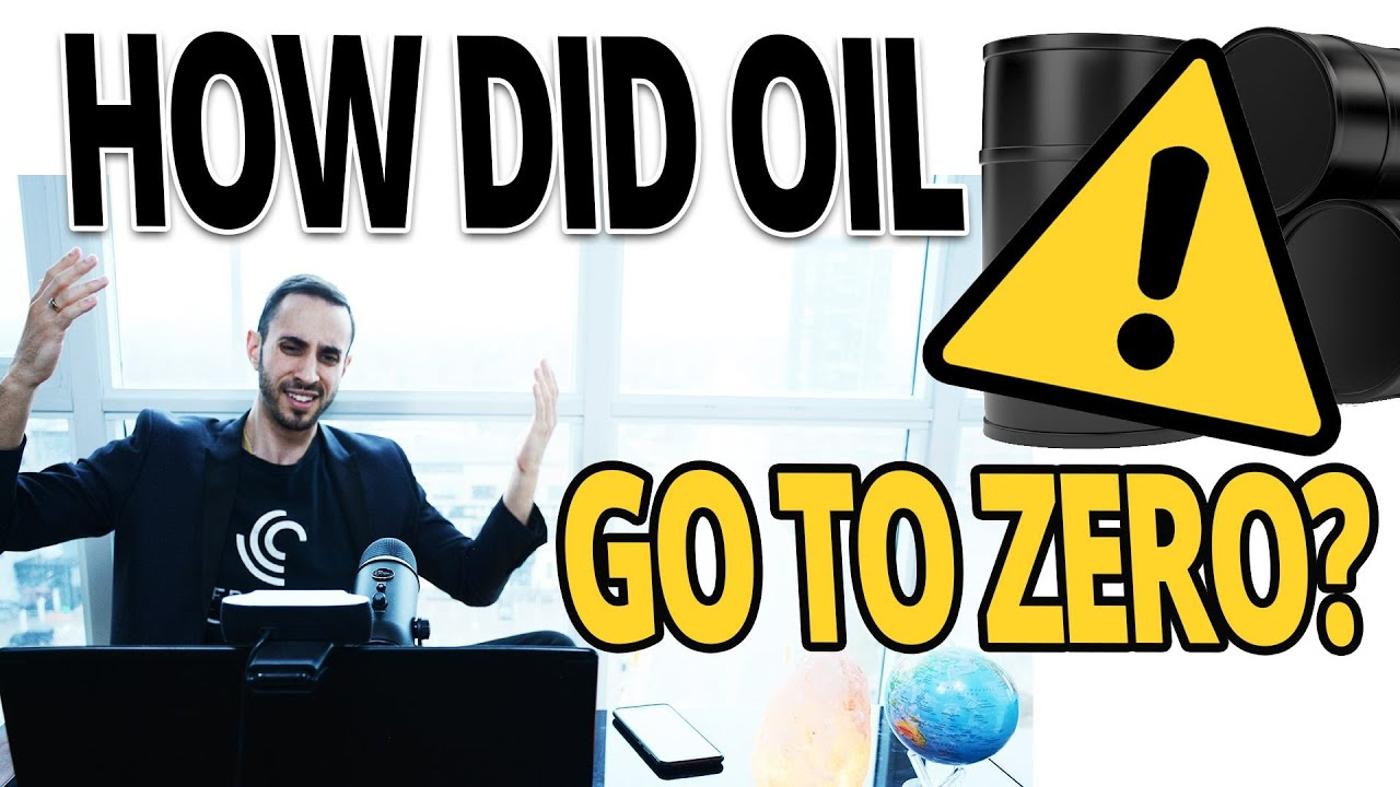 Why oil prices just crashed into negative territory  4 things ...