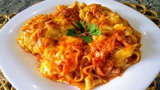 Macarrão de Forno Cremoso –  Pratico e Delicioso