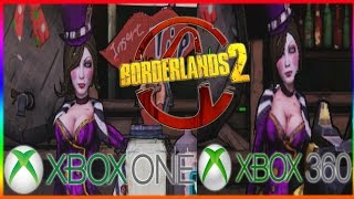 BORDERLANDS 2 XBOX 360 VS XBOX ONE BACKWARDS COMPATIBILITY VERSION!!!
