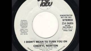 Cherrelle - I Didn't Mean To Turn You On