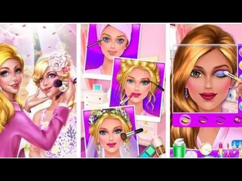 Putri Salju Tata Rias Make Up Show Barbie Barbiedandan Youtube
