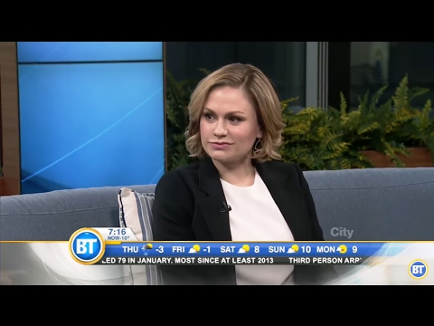 Anna Paquin talks about 'Bellevue' in Breakfast Television