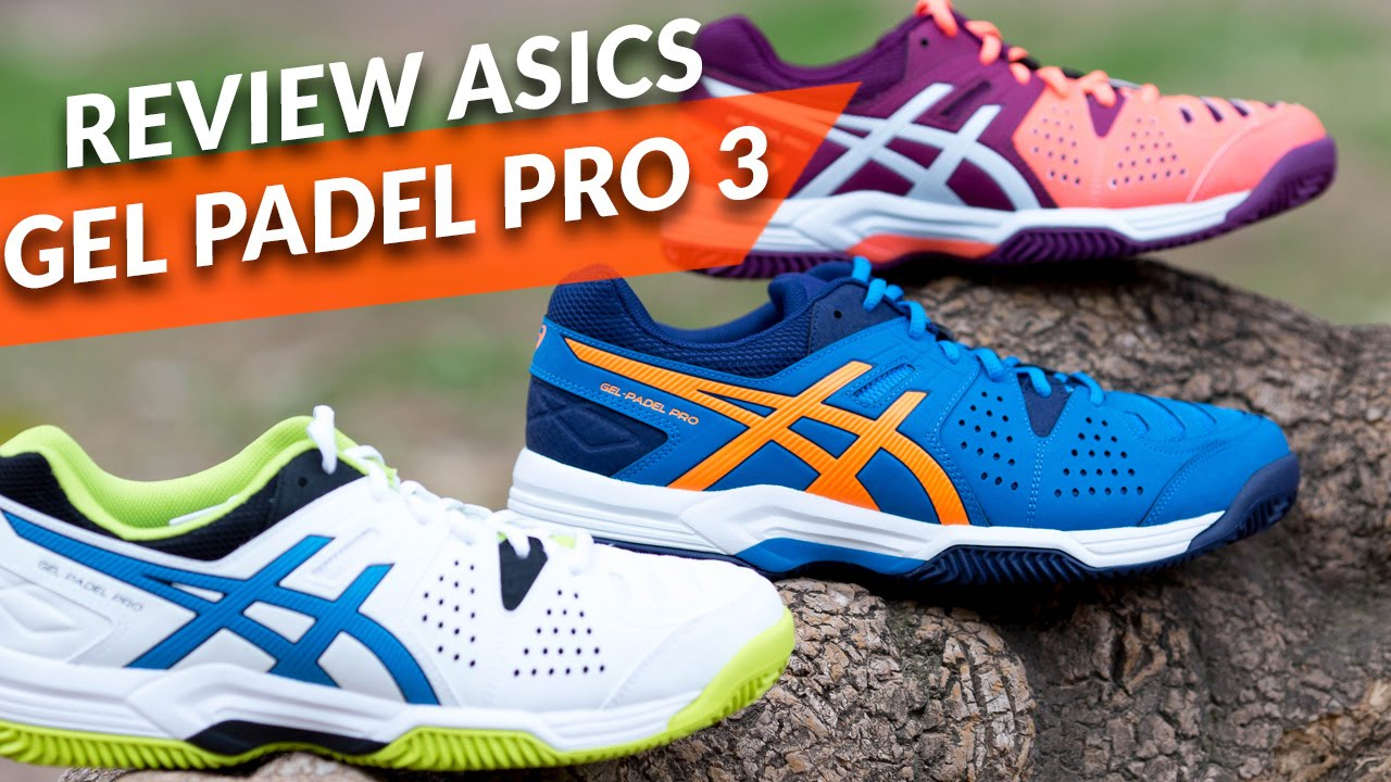 Review Zapatillas Asics Gel Padel Pro 2 Zona de Padel
