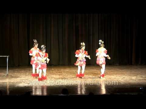 Efik Calabar dancers from Nigeria perform in India