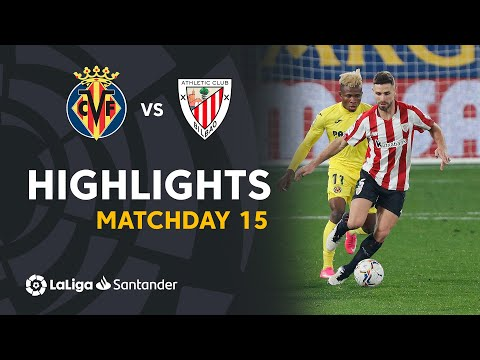 Villarreal Ath. Bilbao Goals And Highlights