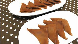 生チョコ八ツ橋 電子レンジ簡単レシピ Wagashi Nama Yatsuhashi Recipe (Chocolate Truffles)【パンダワンタン】