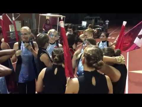 Ironwood High School Color Guard 2015