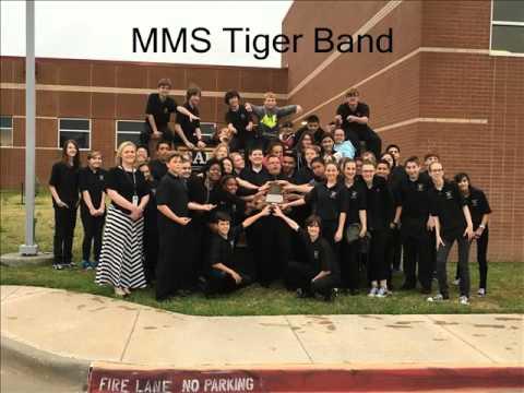 McMath Middle School Tiger Band - A Joyful Journey