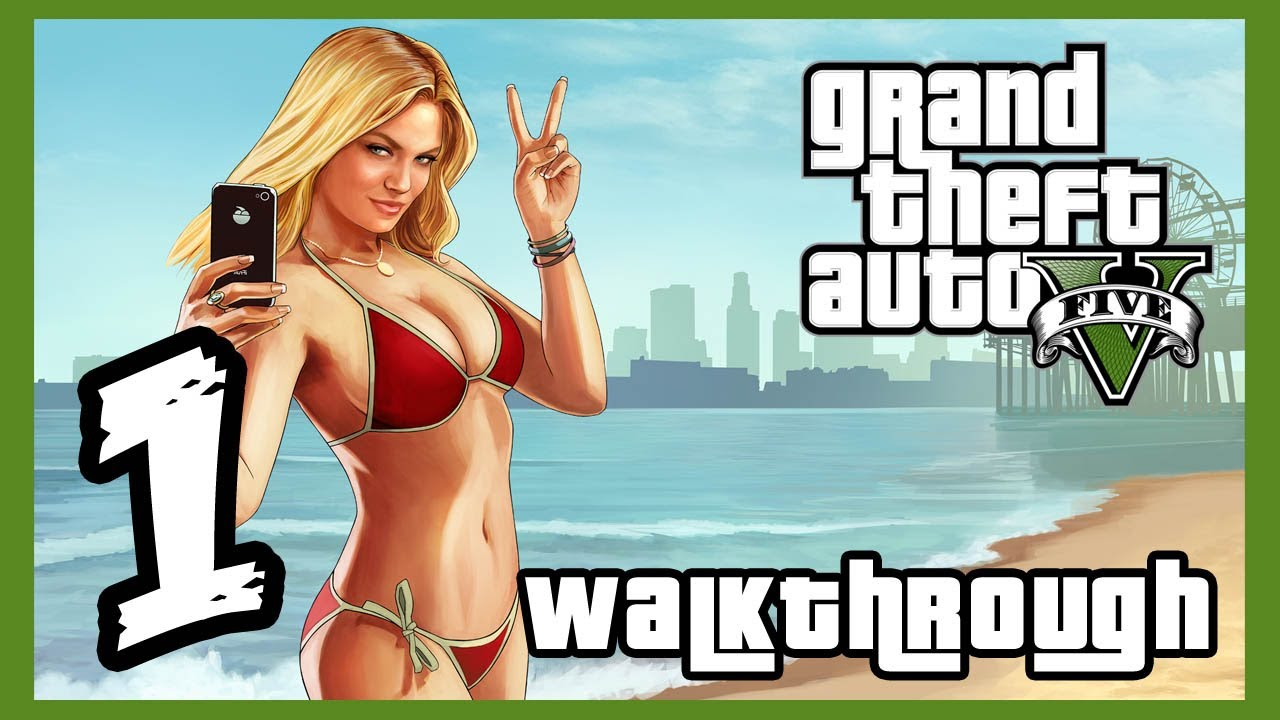 Grand Theft Auto V Walkthrough PART 1 [PS3] Lets Play Gameplay TRUE-HD QUALITY