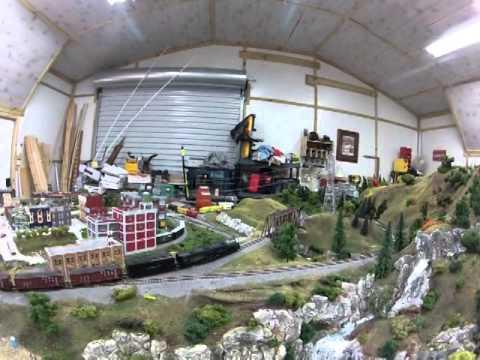 N scale Athearn Big Boy 4-8-8-4 Lap around Smokey Mountain Southern Railroad