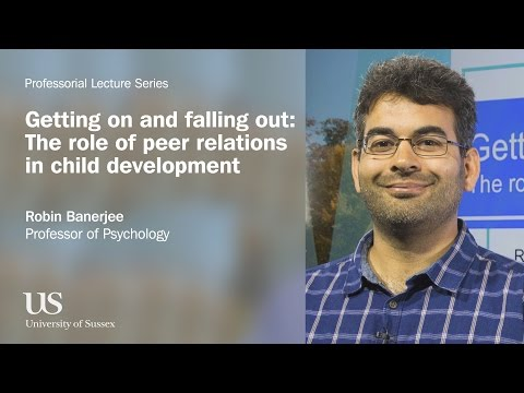 University of Sussex Professorial Lecture - Robin Banerjee