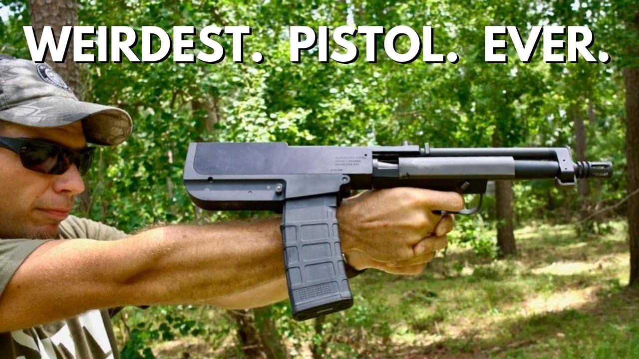 Weirdest.  Pistol.  Ever.