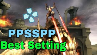 PPSSPP Best Setting God of war Chains Of Olympus