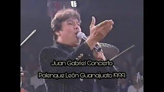 JUAN GABRIEL CONCIERTO PALENQUE LEÓN GTO 1999 (Pirmer Noche)