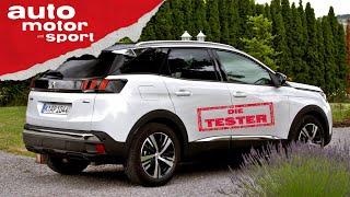 Peugeot 3008: Reicht der Einstiegsbenziner? - Test/Review   auto motor und sport